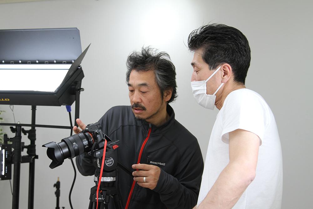 カメラマン撮影時の様子
